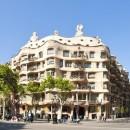 066_Ispaniya_Barselona_La_Pedrera_(arh_AGaudi)_View_of_Barcelona_Spain_Casa_Mila_Foto_Iakov_Filimonov_-_Depositphotos