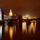 Прага_ночью,_Чехия