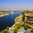 Old Cataract Hotel and Nile River
